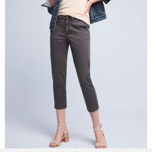ANTHROPOLOGIE CHINO SLIM IN BEIGE. SIZE 32